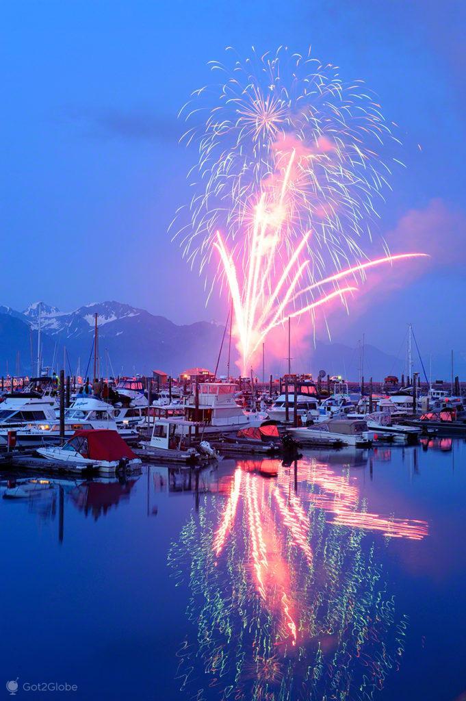 4 de Julho em Seward, Alasca, Estados Unidos