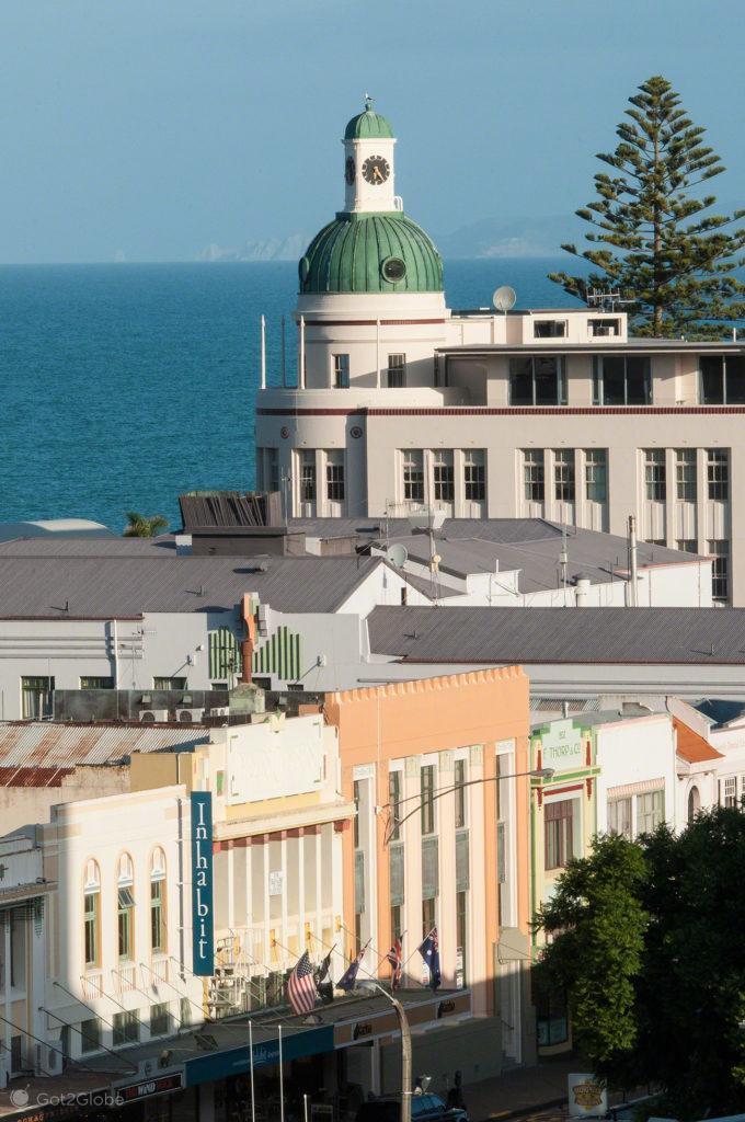 Art Deco, Napier, Nova Zelândia