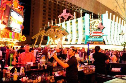 Bar de Rua, Fremont Street, Las Vegas, Estados Unidos