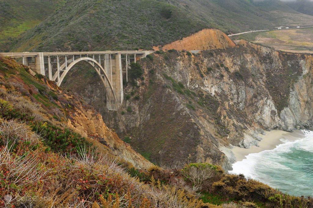 Bixby bridge, Big Sur, Califórnia, Estados Unidos
