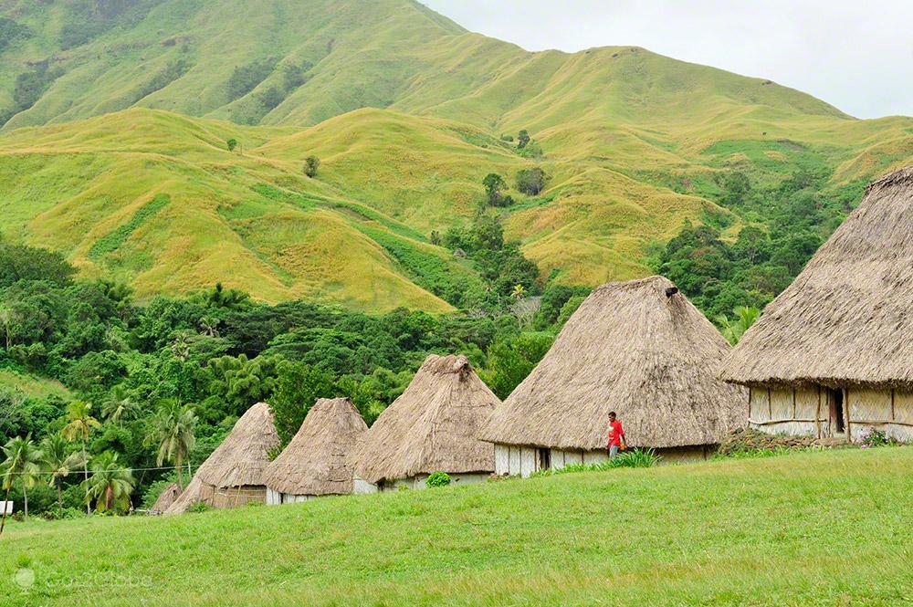 Bures, Navala, Viti Levu, Fiji