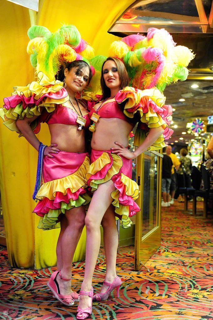 Can Can Girls, Fremont Street, Las Vegas,Estados Unidos