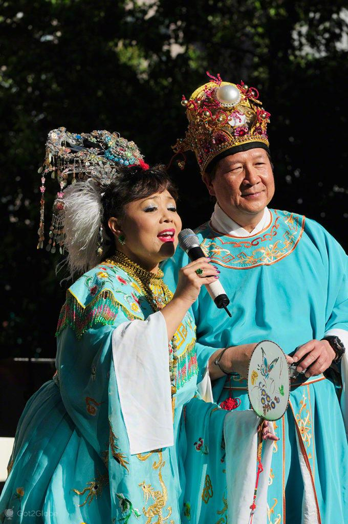 Cantores, Moon Festival-Chinatown-Sao Francisco, Estados Unidos da America