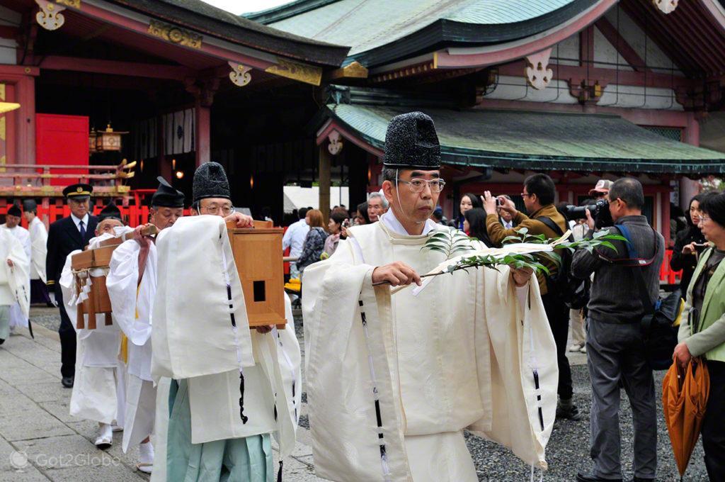 Cerimónia do Fire Festival, Festival de Ohitaki, templo de fushimi, quioto, japao