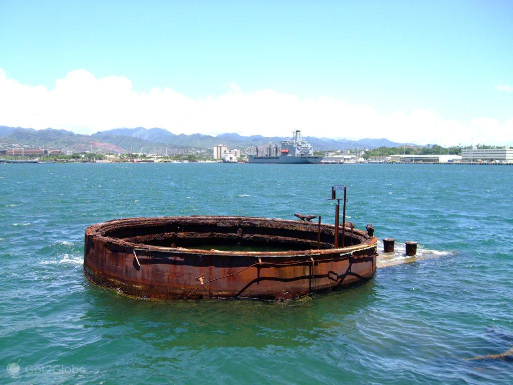 Chamine USS Arizona, Pearl Harbour, Havai