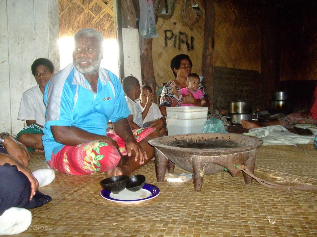 Chefe, cerimónia Kava, Navala, Fiji