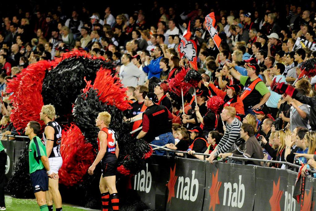 Claque, Melbourne Cricket Ground-Rules footbal, Melbourne, Australia