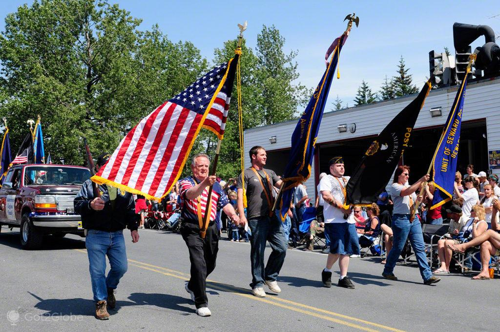 Desfile 4 de Julho, Seward, Alasca, Estados Unidos