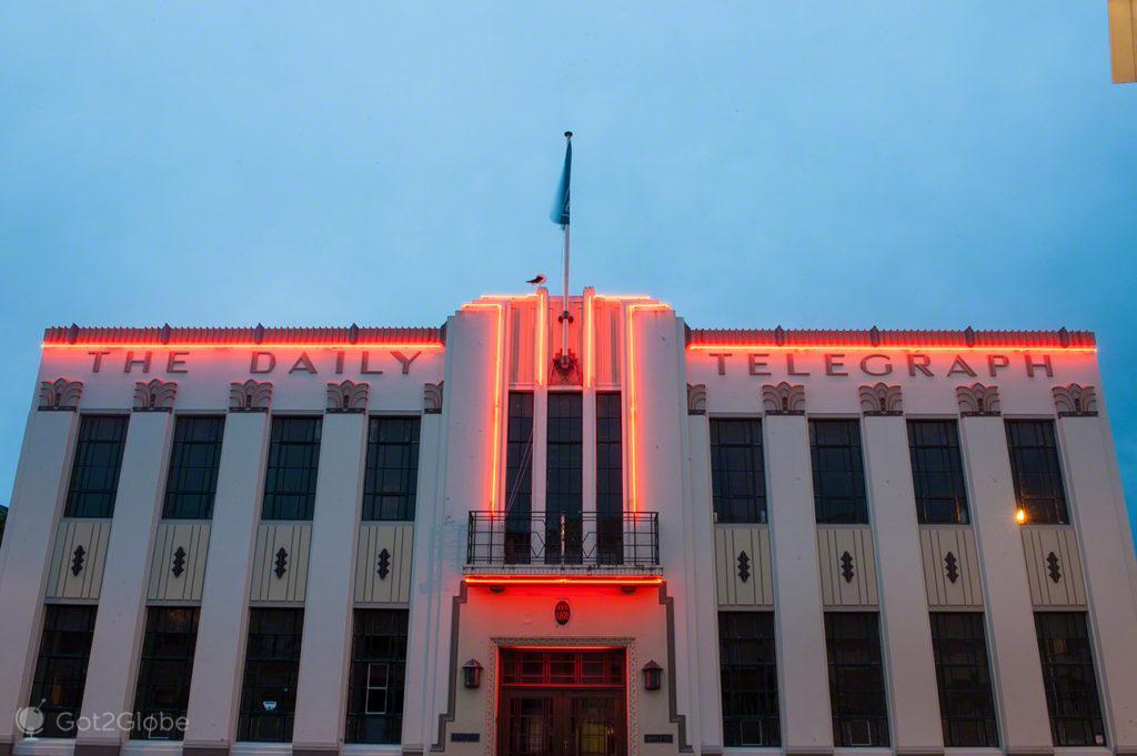 Edifício art deco, Napier, Nova Zelândia