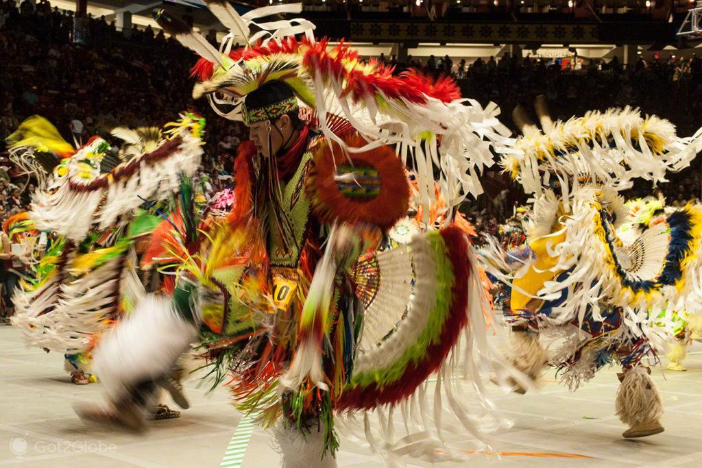 Dança em transe, Pow Pow, Albuquerque-Novo México, Estados Unidos