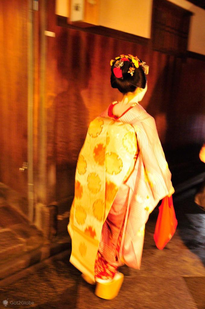 Geisha em Gion, Geisha, Quioto, Japao