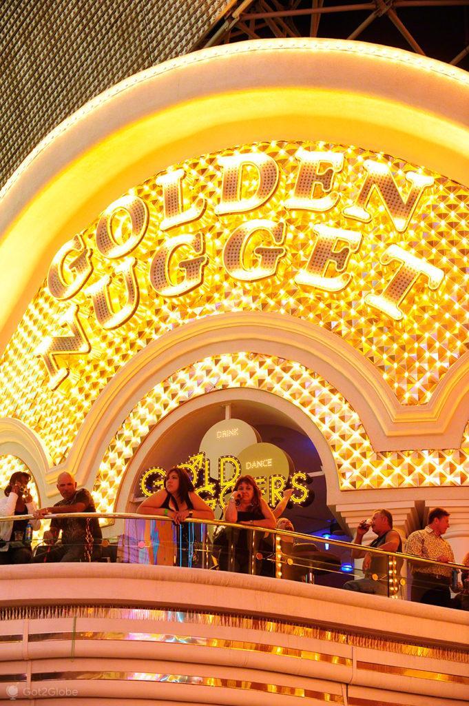 Golden Nugget, Fremont Street, Las Vegas, Estados Unidos