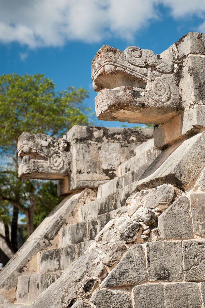 Quetzacoatl, Chichen Itza, México