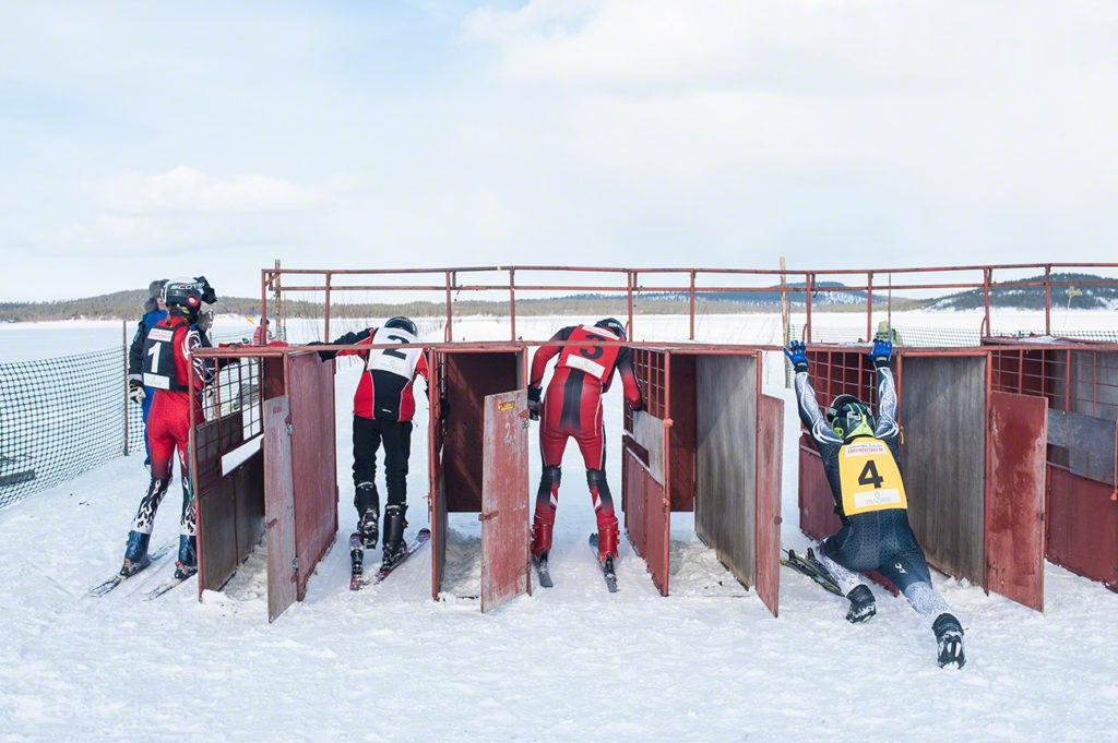 Joqueis na meta, Corrida de Renas Porokuninkuusajot, Kings Cup-Inari, Finlândia