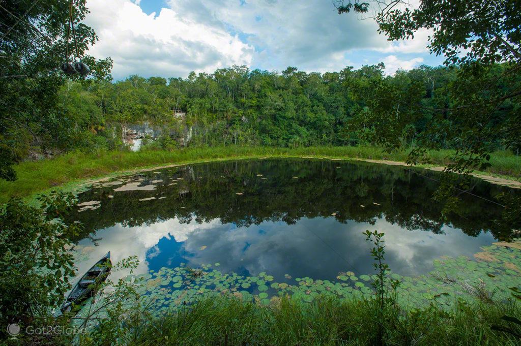 Lagoa Pac Chen, Quintana Roo, México