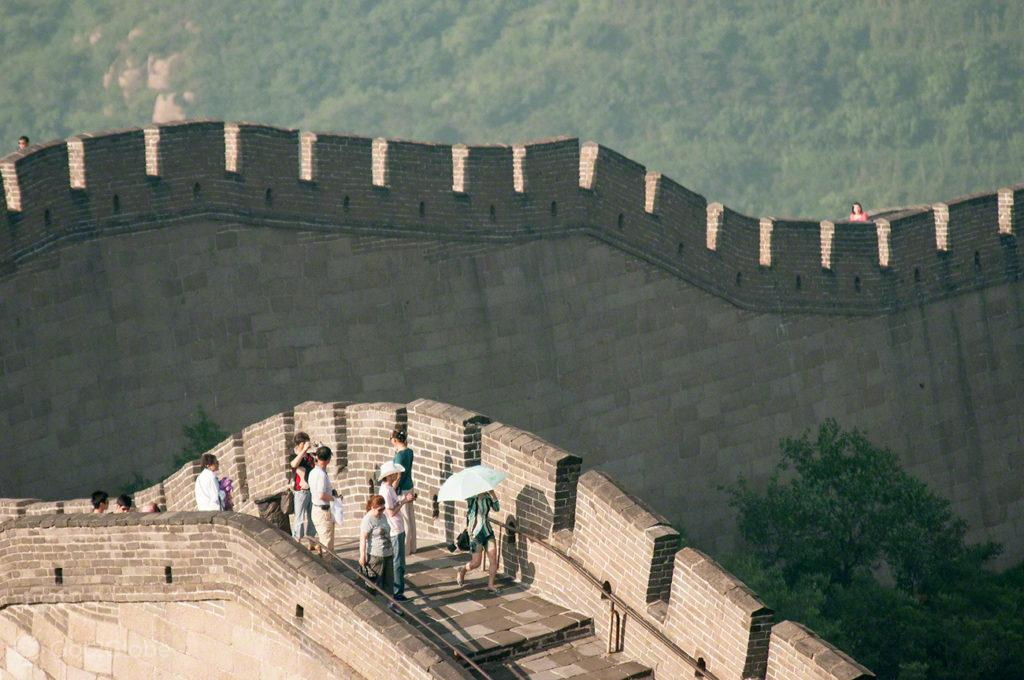 Meandros, Muralha da China, Badaling, China