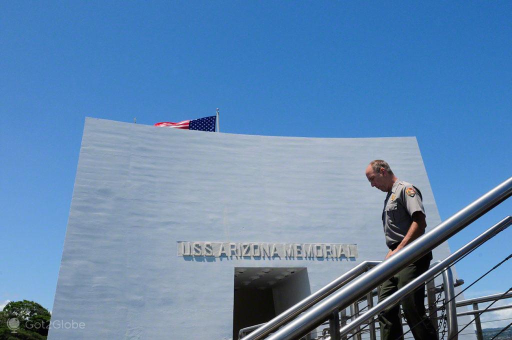 Militar USS Arizona, Pearl Harbour, Havai