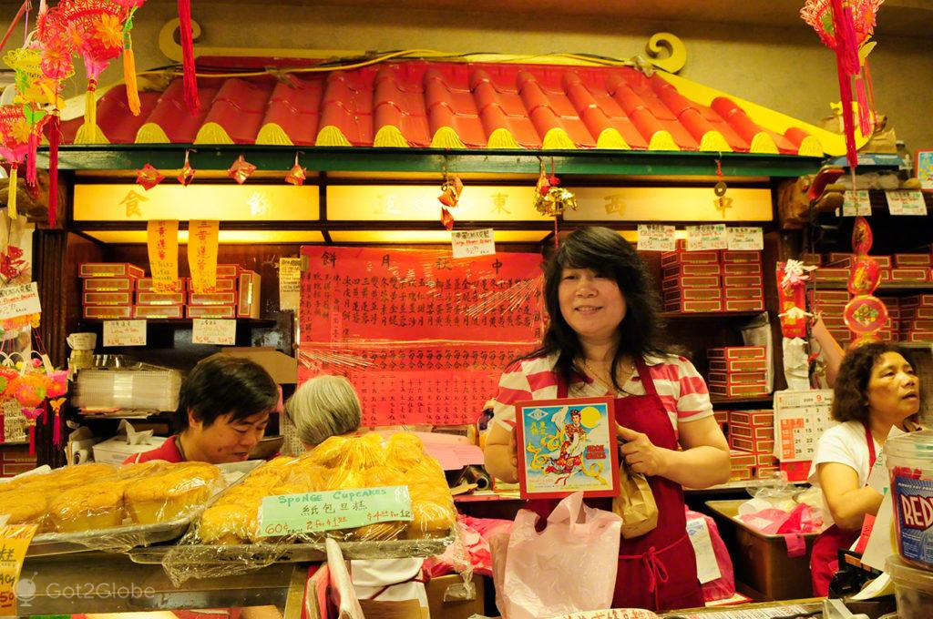 Mooncakes, Chinatown-Sao Francisco, Estados Unidos da America