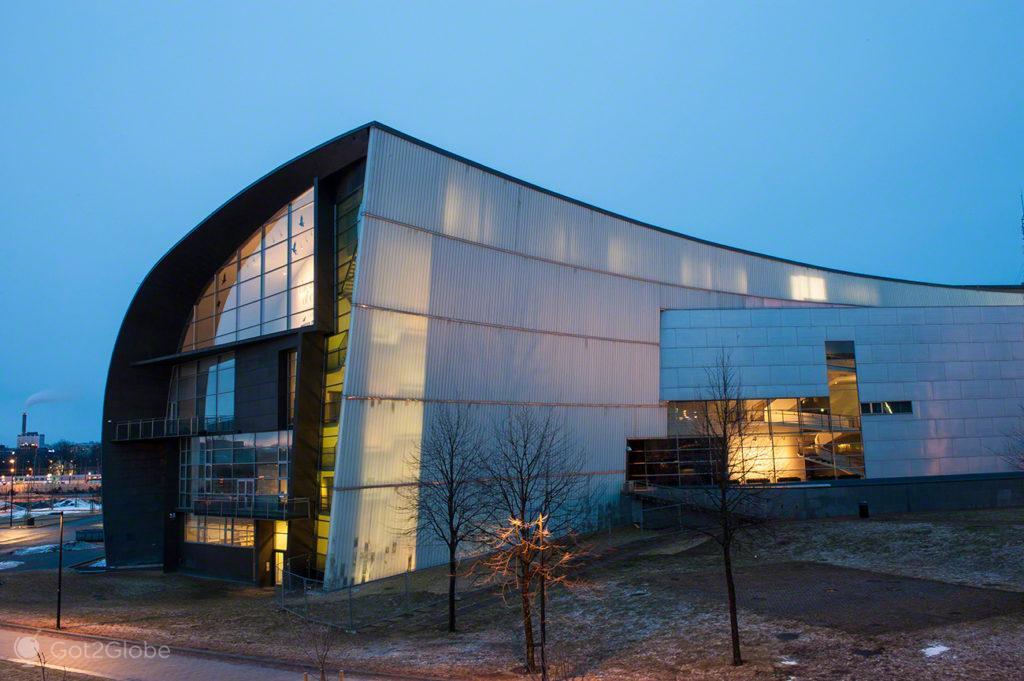 Museu Kiasma, Helsinquia