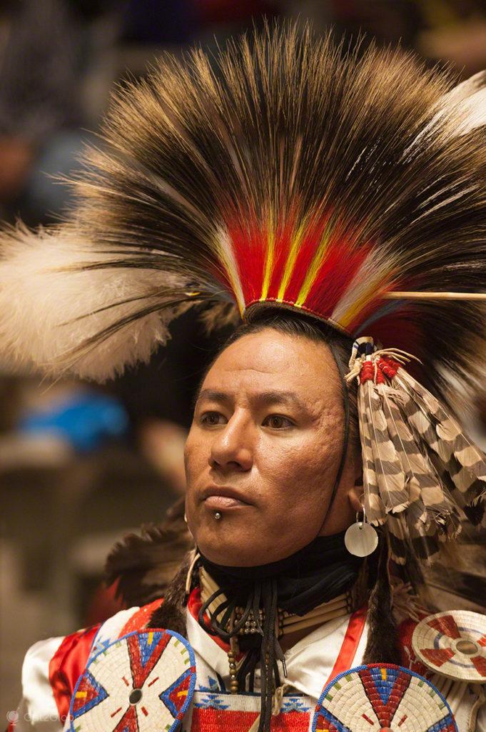 Cocar alto, Pow Pow-Albuquerque-Novo México, Estados Unidos