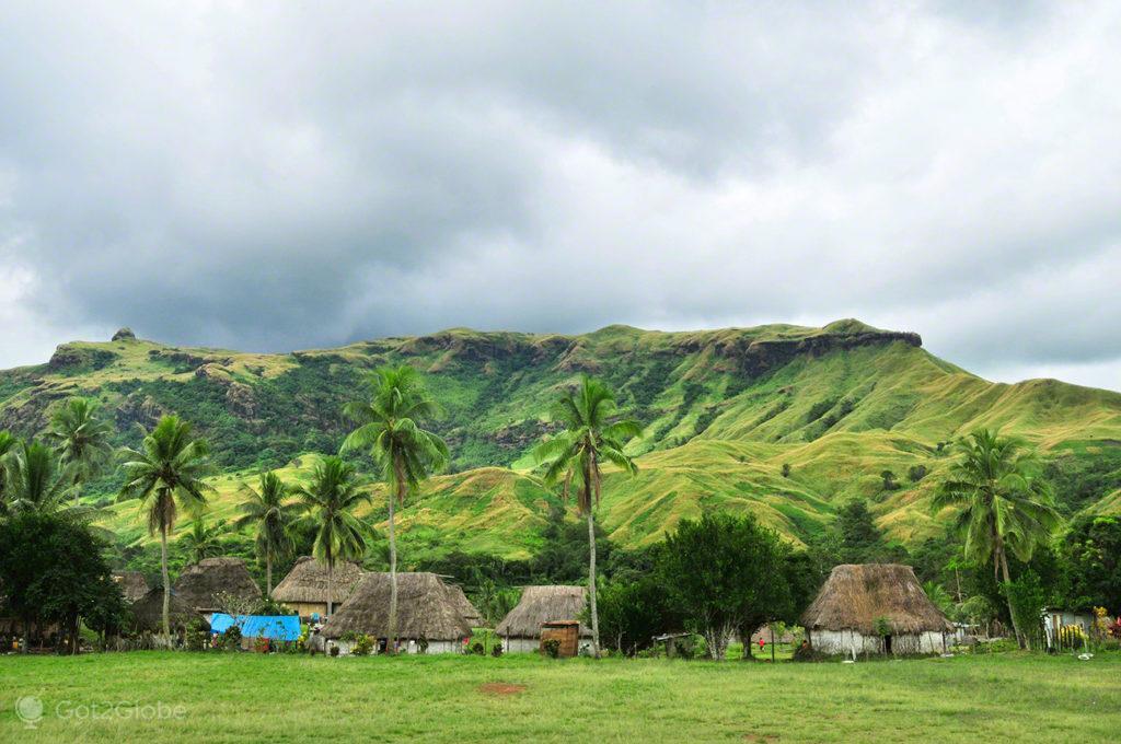 Navala Village, Viti Levu, Fiji