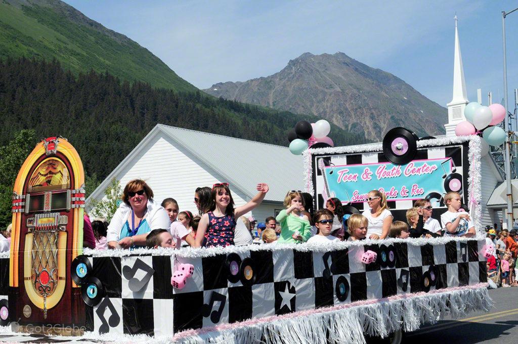 Parada do 4 de Julho, Seward, Alasca, Estados Unidos