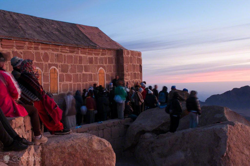 Peregrinos, Monte Sinai, Egipto