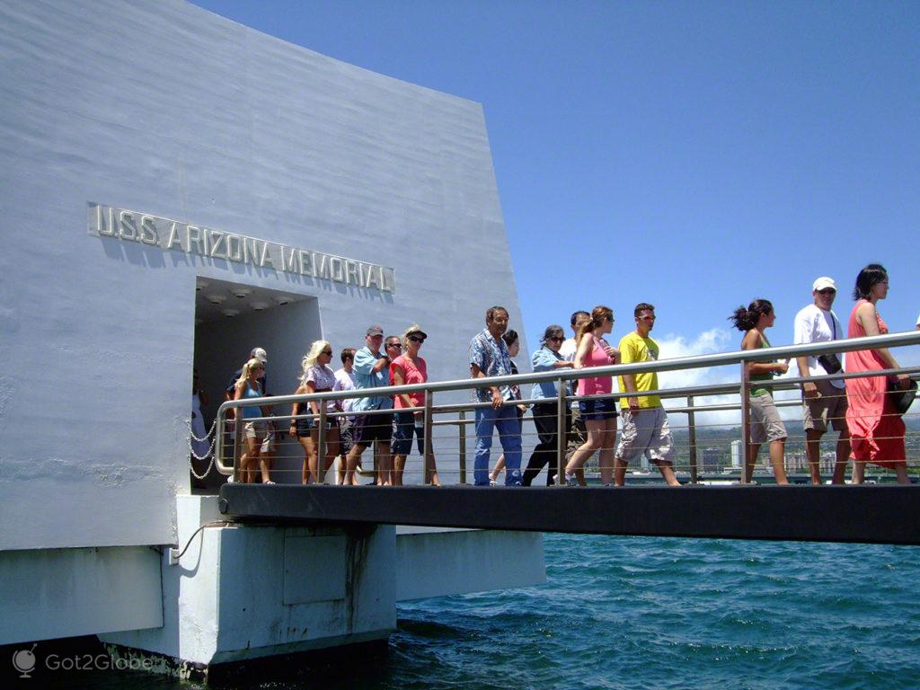 Ponte USS Arizona, Pearl Harbour, Havai