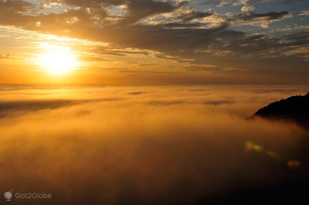 Por do sol, Big Sur, Califórnia, Estados Unidos