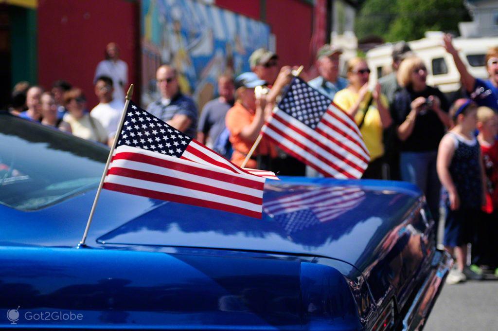 Parada 4 de Julho-Seward, Alasca, Estados Unidos