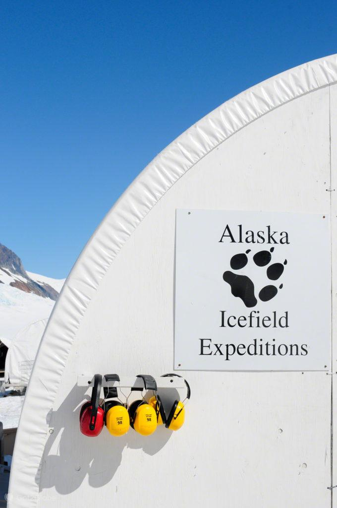 Pormenor de tenda, acampamento dog mushing, Godwin, Seward, Alasca