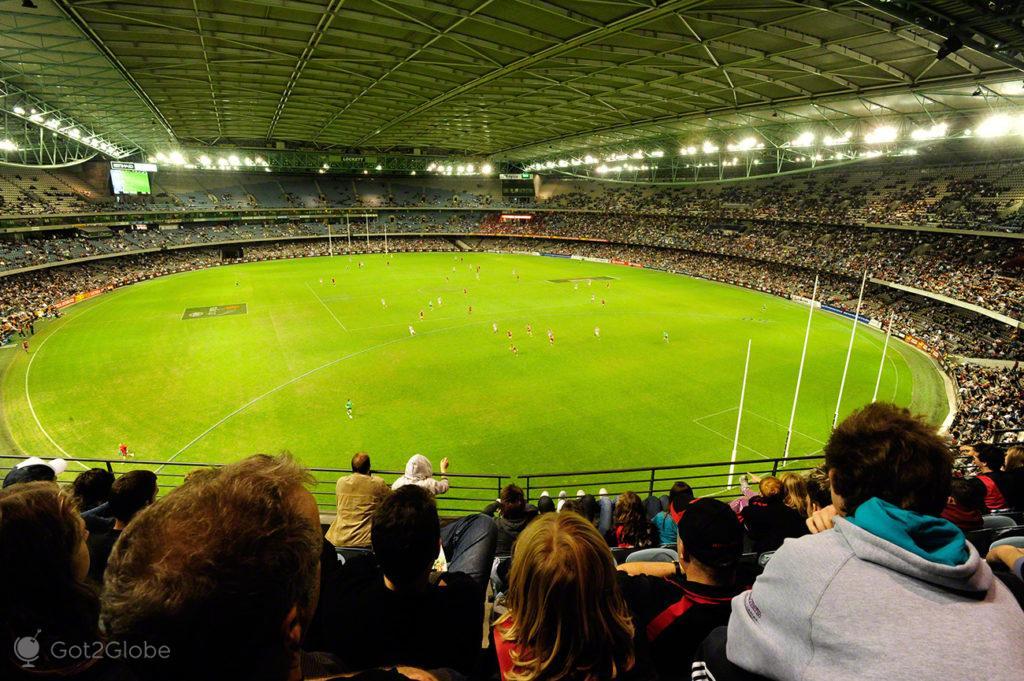 Publico, Melbourne Cricket Ground-Rules footbal, Melbourne, Australia