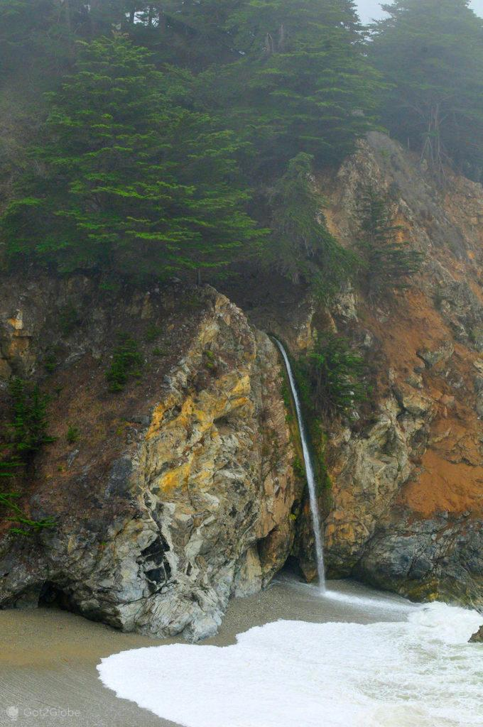 Queda de água, Big Sur, Califórnia, Estados Unidos