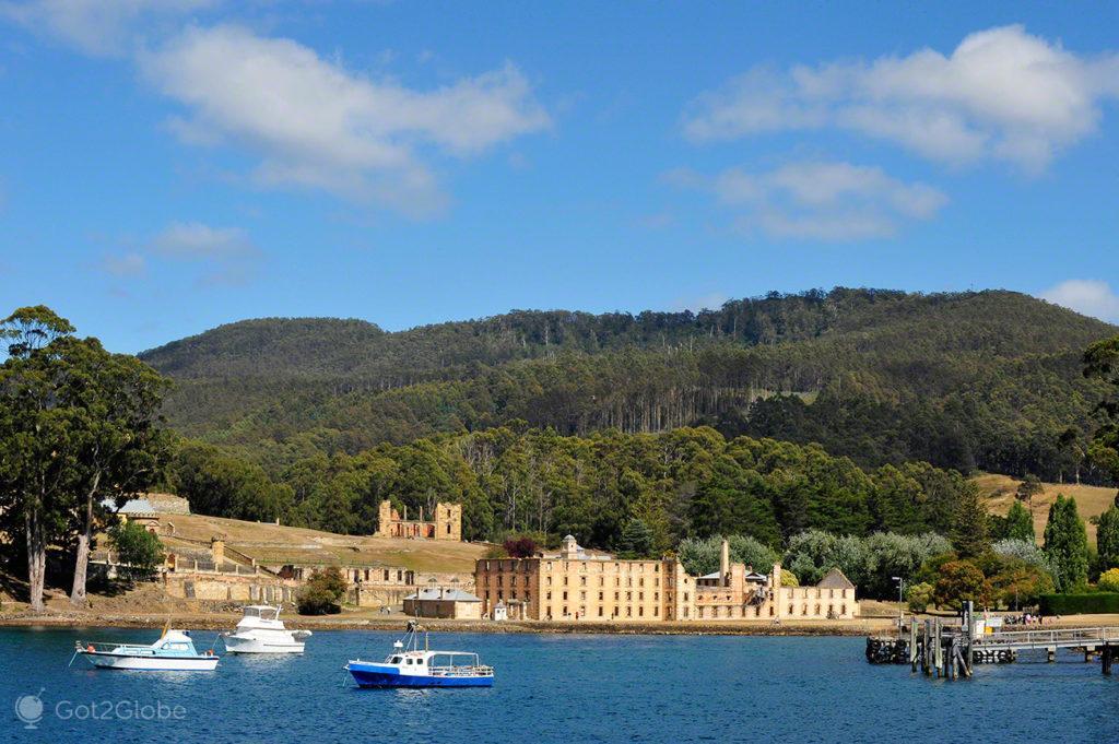 Ruinas Port Arthur, Tasmania, Australia