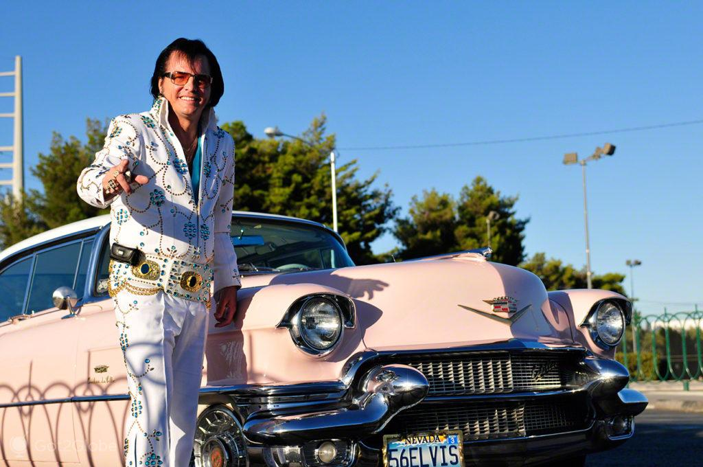 Sósia de Elvis, Las Vegas, Nevada, Estados Unidos