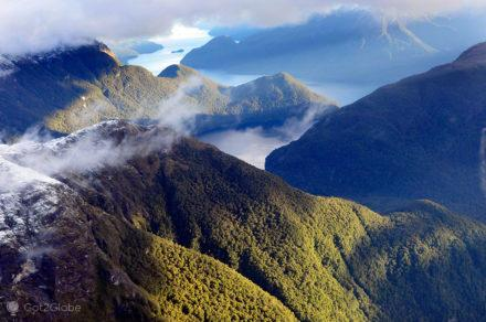 The Sounds, Fiordland National Park, Nova Zelândia