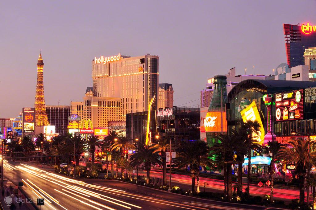 The Strip, Las Vegas, Nevada, Estados Unidos