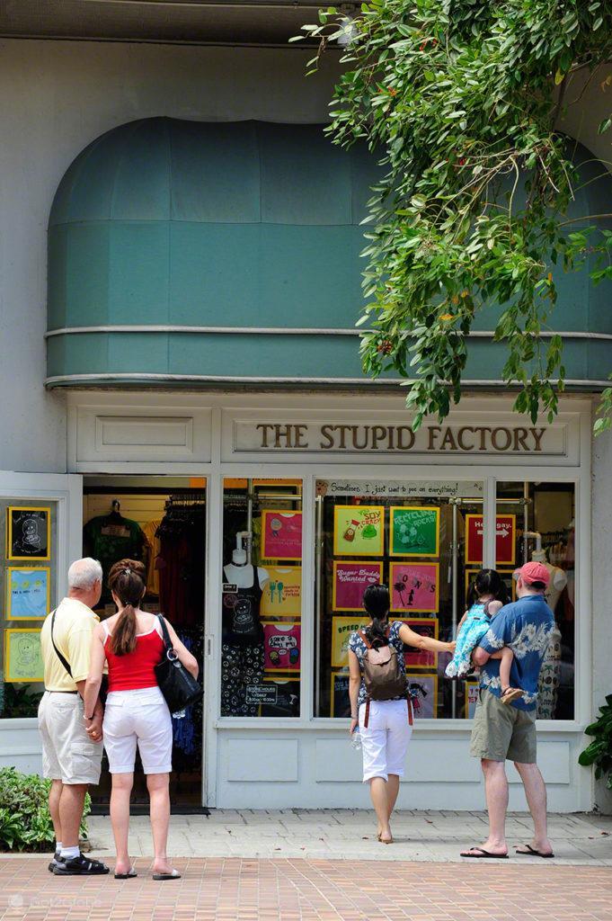 The Stupid Factory, Waikiki, Oahu, Havai