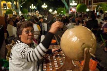 Tombola, bingo de rua-Campeche, Mexico