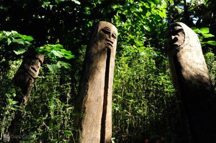 Totems, aldeia de Botko, Malekula,Vanuatu