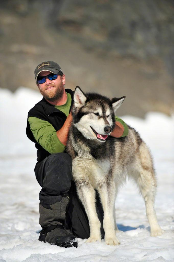 Tratador de Dog mushing, Godwin, Seward, Alasca