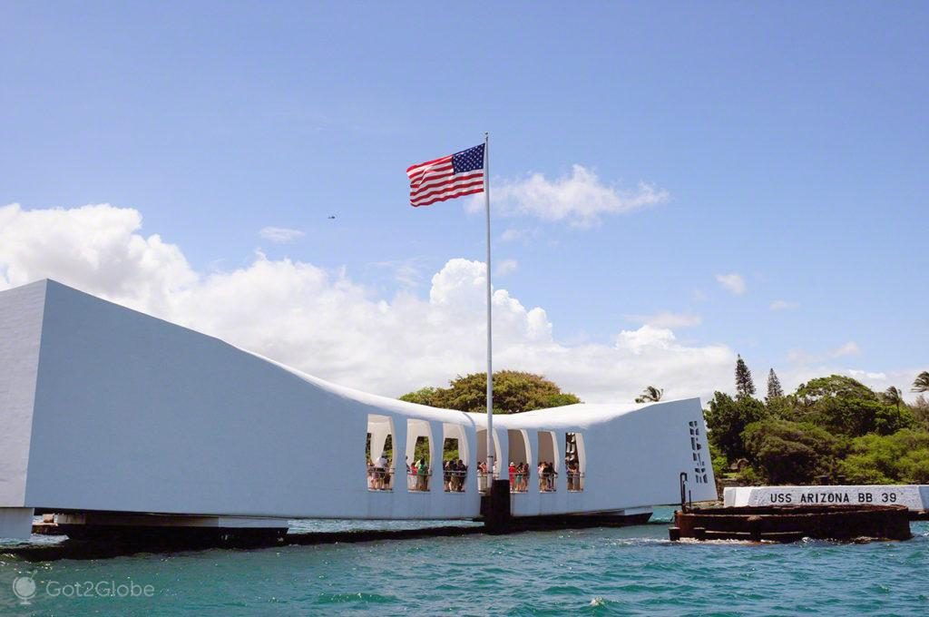USS Arizona, Pearl Harbour, Havai