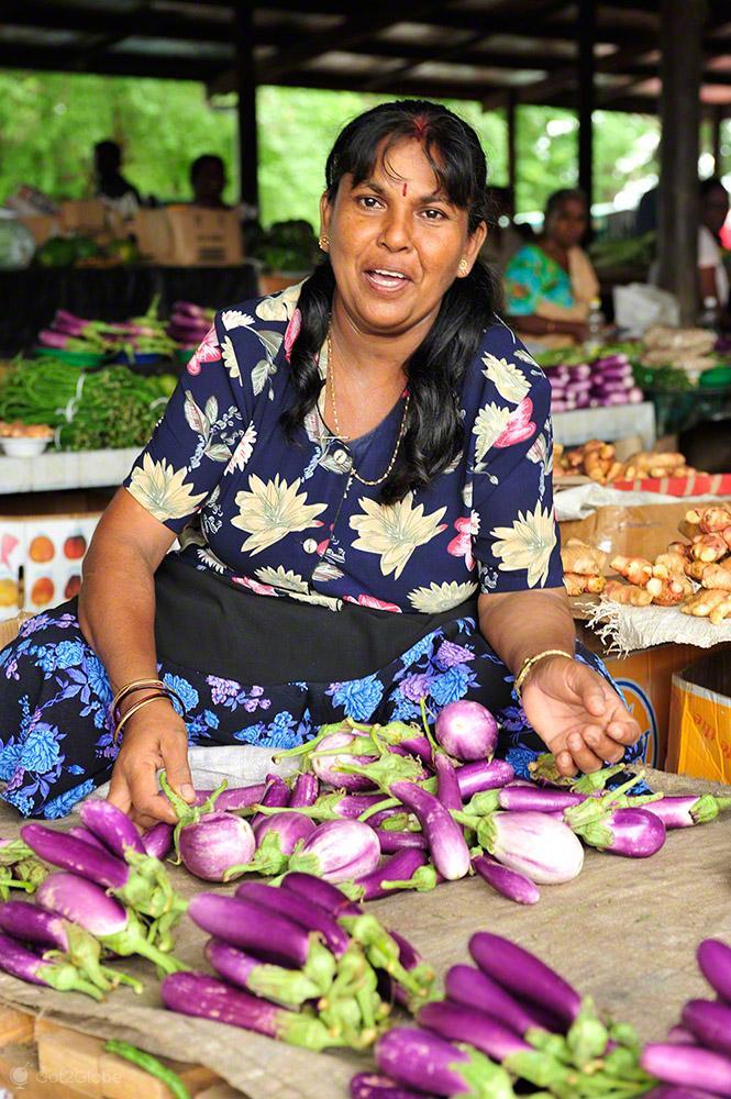 Vendedora indo fijiana, Ba, Viti Levu, Fiji