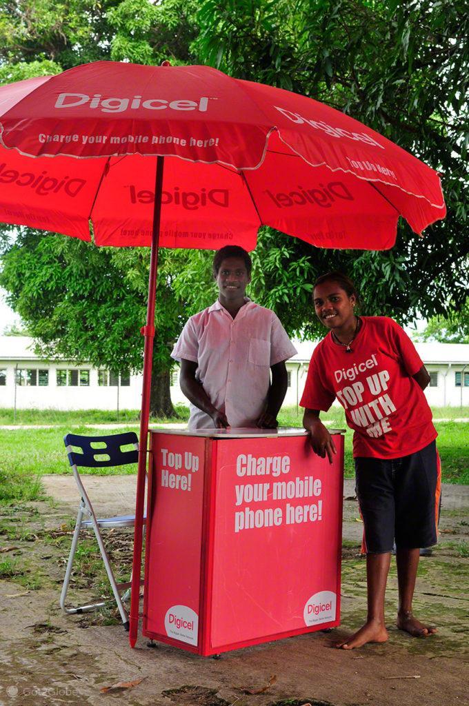 Vendedores Digicel-Luganville, Espiritu Santo, Vanuatu