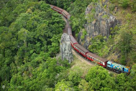 Comboio Kuranda train, Cairns, Queensland, Australia