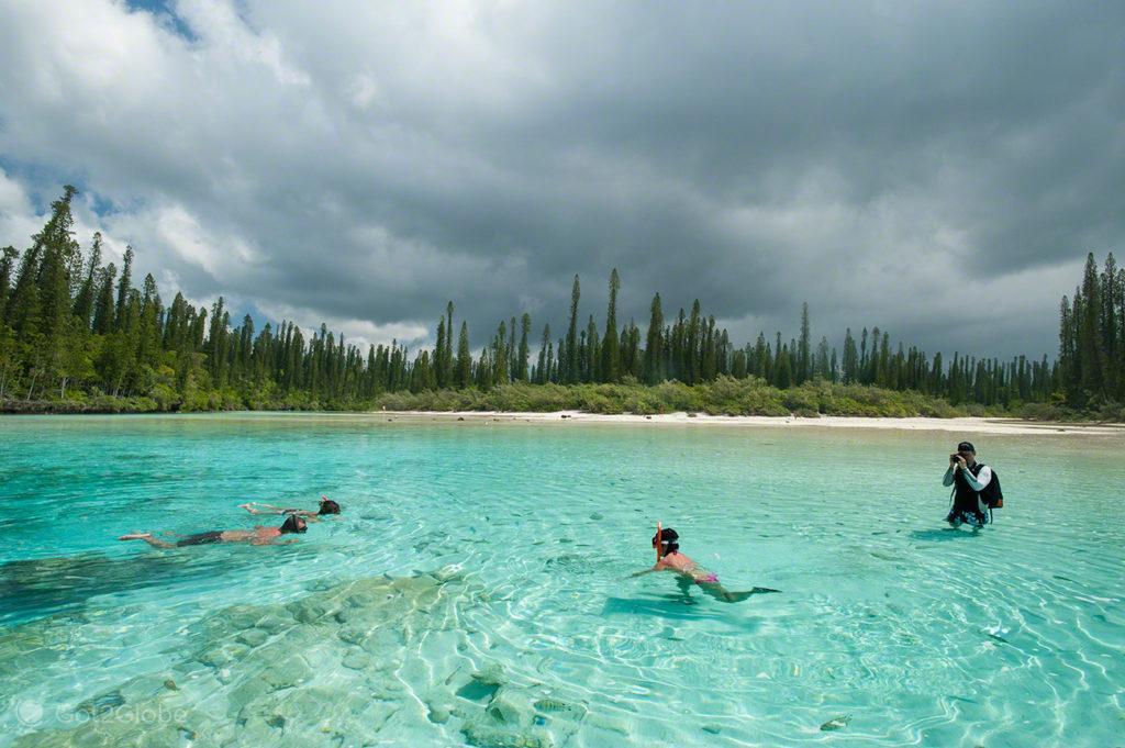 Divinal snorkeling, Baie d'Oro, Île des Pins, Nova Caledonia