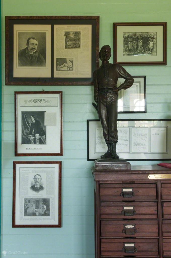 fotos e memorias, vila vailima, Robert Louis Stevenson, Upolu, Samoa
