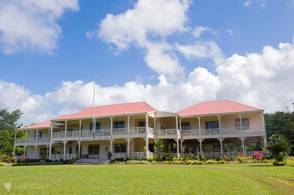 mansão, casa, vila vailima, Robert Louis Stevenson, Upolu, Samoa