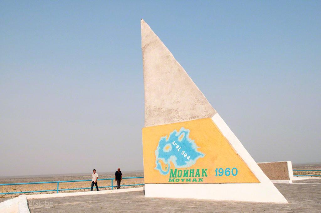 monumento, Mar de Aral, Usbequistão