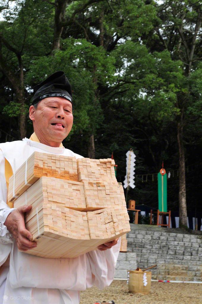 preces, Festival de Ohitaki, templo de fushimi, quioto, japao